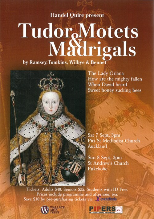 Tudor Motets Madrigals Sep 19
